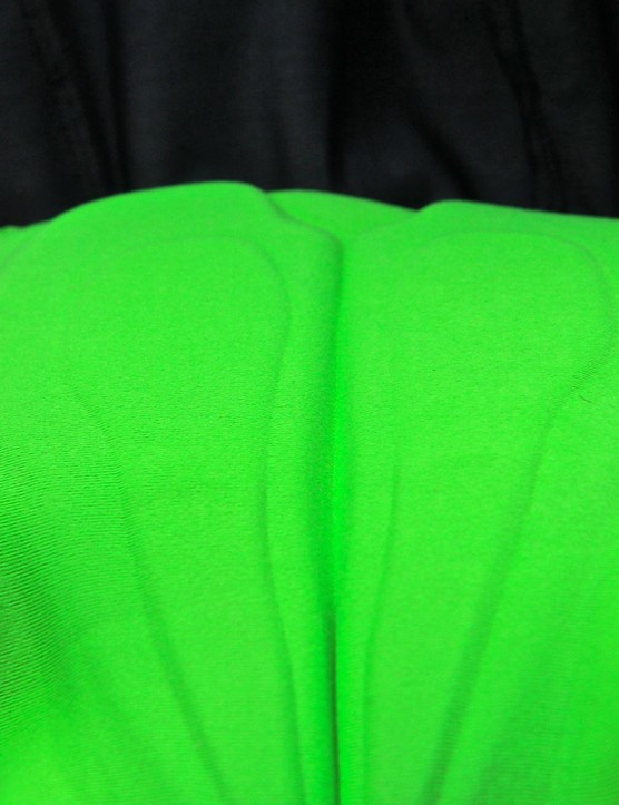 POC developed the Contour chamois with CyTech, opting for silicone instead of gel or foam for the thick part of the padding