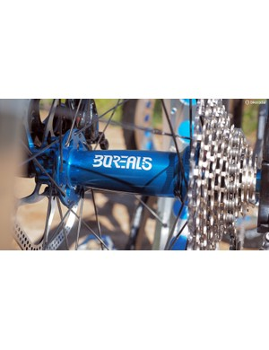 Borealis equips the Echo with its own thru-axle hubs