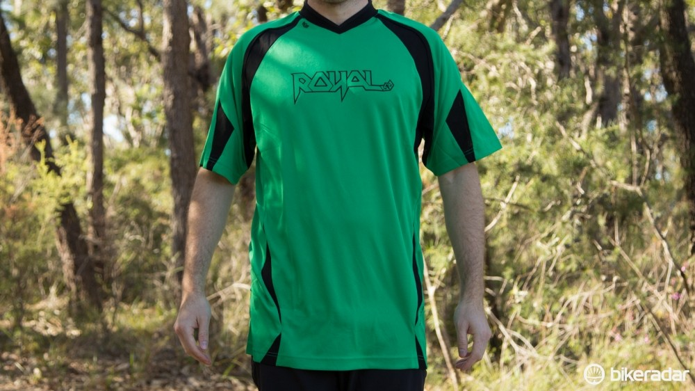 The Royal Racing Turbulence is a loose fitting jersey built tough