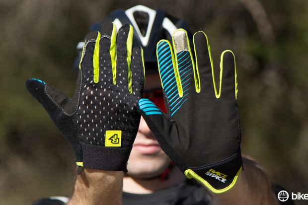 Race Face's Stage gloves offer a minimal feel without giving up on durability