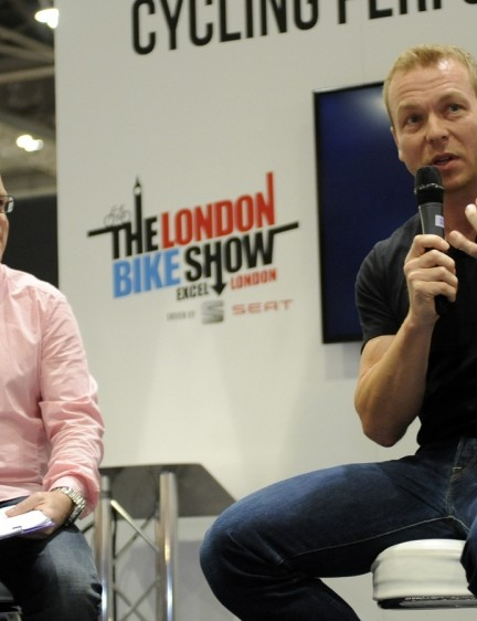 ...along with Sir Chris Hoy – expect more big names next year