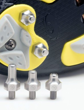 Horst Engineering makes its new cyclocross spikes in four different styles to suit varying course conditions