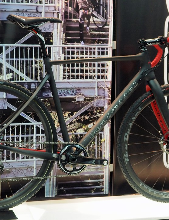 Perennial cyclocross cult favorite Van Dessel always strives to have its bikes ready in July but often has to settle for August (or later)
