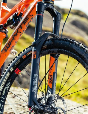 RockShox' Pike rounds out a SRAM dominated build kit