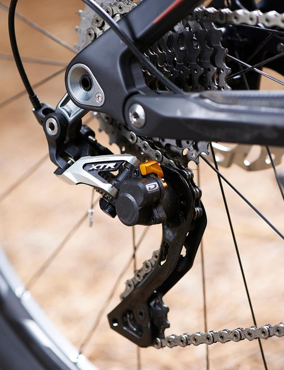 Shimano XTR may be 10-speed, but it's still smooth