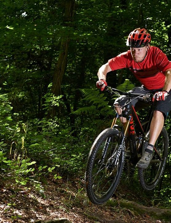 Precision and poise from the frame is impressive on technical singletrack or when you're stamping the pedals and smashing the climbs