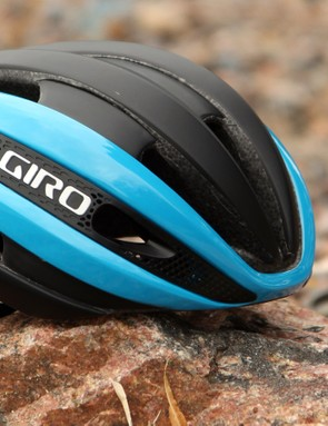 Giro says its new Synthe is its most aerodynamically efficient road helmet - but it's also very well ventilated at both fast and slow speeds, light, and comfortable
