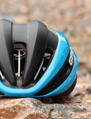 The sleek and compact shape is one of the keys to the Giro Synthe's aerodynamic performance