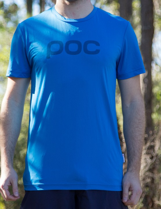 The POC Trail Light Tee has plenty to offer on a hot summer's day