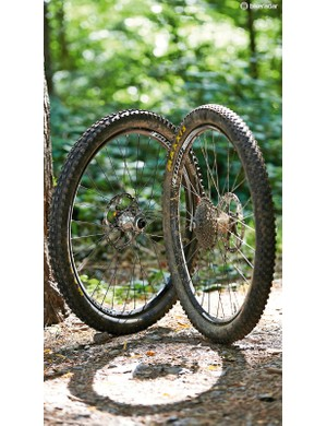 The Enduro wheelset is Hope's first complete wheelset that uses their own rims as well as hubs