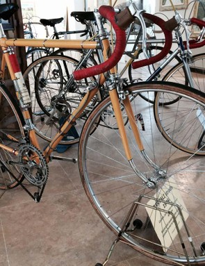 Gino Bartali's 1949 bike has sadly been lost, but this stunning recreation is as close to the original as possible