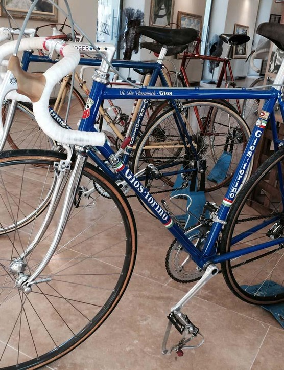 Roger de Vlaeminck's Gios is in immaculate condition