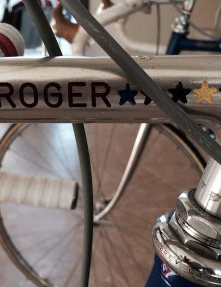 We love the early signature stem on Roger de Vlaeminck's Gios