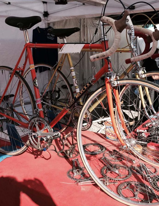 This Eddy Merckx replica Colnago Super was absolutely complete…