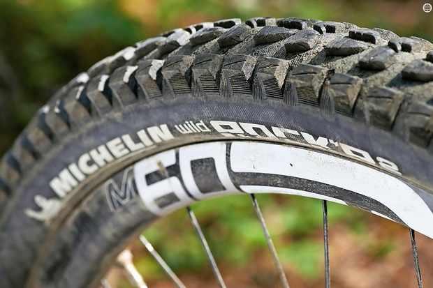 0acbba712b2 Michelin Wild Rock'R 2 650bx2.35in tyre - BikeRadar