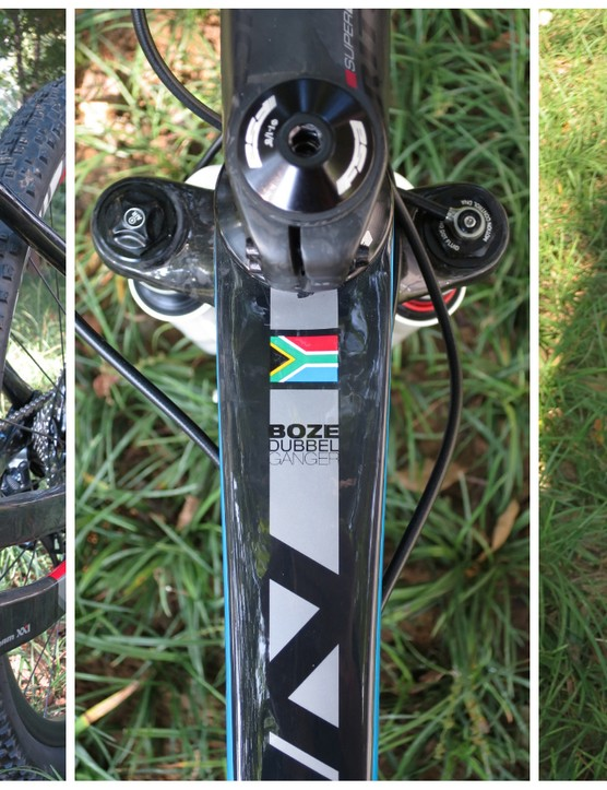 A closer look at the Evil Twin's details. Apparently 'Boze Dubbel Ganger' loosely translates to 'Evil Twin' in Afrikaans