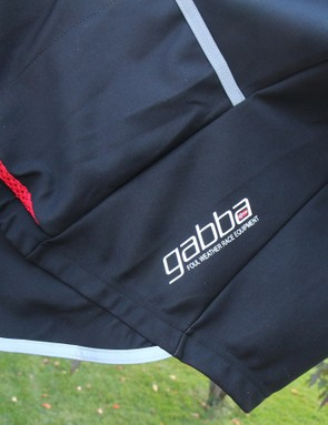A drop tail, thick reflective bands and drainage mesh on the pockets make it clear this is gear for foul weather