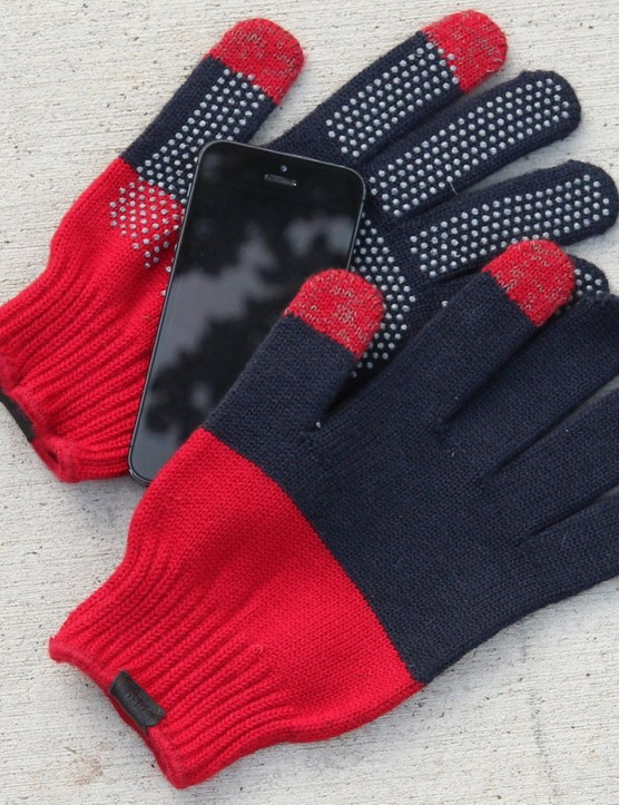 Giro's Merino Wool gloves work with touchscreens