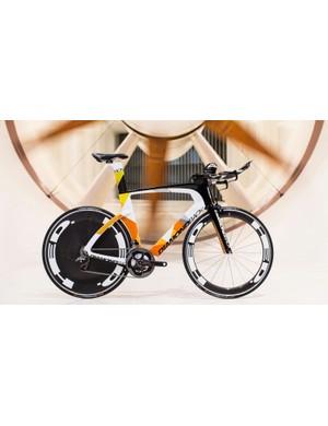 The new Diamondback Serios TT/tri bike will come in three builds and a frameset