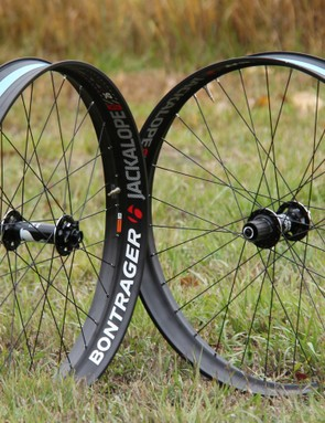 Bontrager is bringing its tubeless-compatible technology to the fat bike market with its new Jackalope wheelset