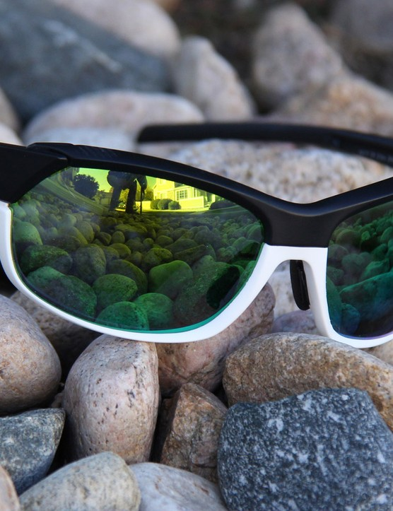 The Smith Pivlock Overdrive sunglasses come with three sets of interchangeable lenses