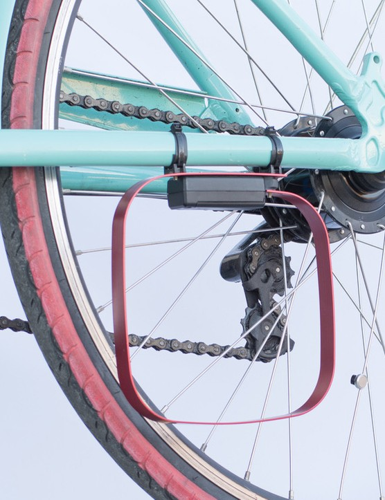 The Veloloop amplifies your bicycle's ability to trigger electromagnetic stoplight sensors