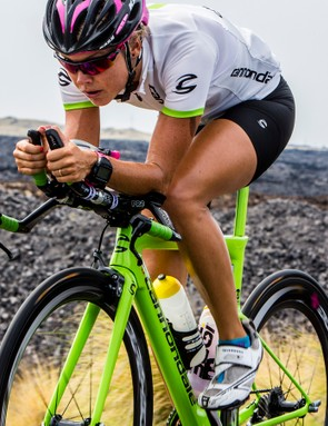 Pro Michelle Vesterby is riding the new Slice
