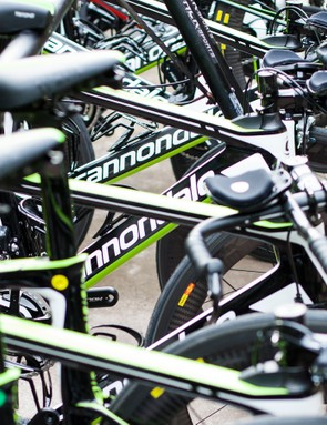 Cannondale had an army of new Slices in Hawaii
