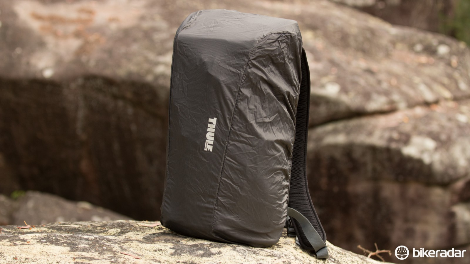 If the water-resistant material and zippers aren't enough in a downpour, there's an included rain cover too