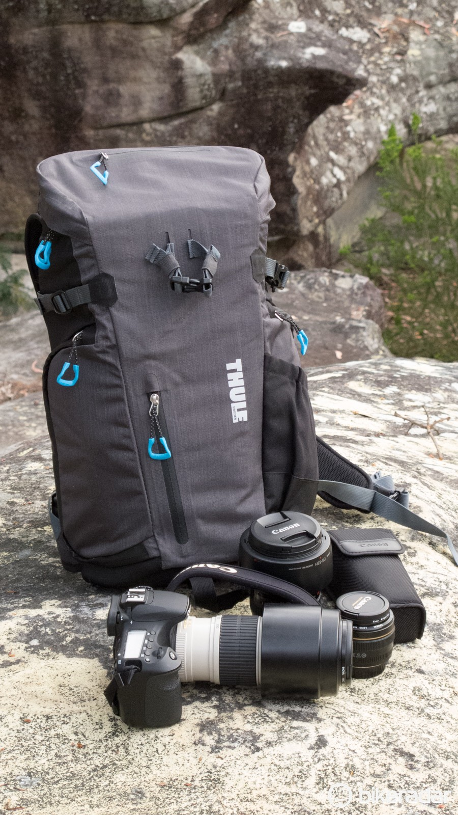 Professional photographers will likely find the carrying space too small, but it should work well for many enthusiasts