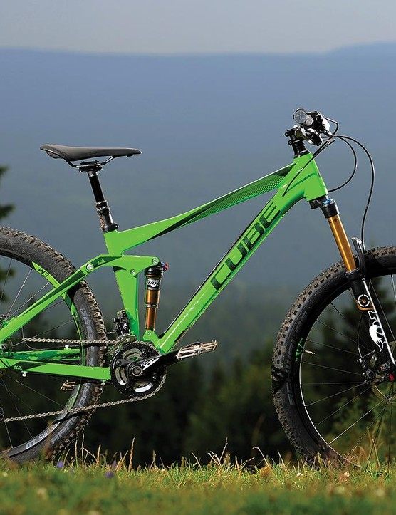 The rejigged Stereo feels nearly as low-slung as a jump bike