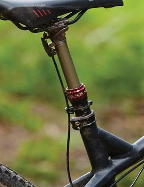 It's good to see a dropper seatpost fitted as standard
