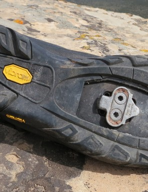The Vibram rubber sole provides outstanding grip