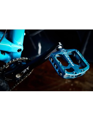 Chromag's Scarab pedals keep Ed's feet planted