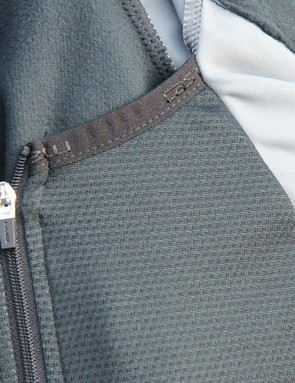 The Alpha has a built-in front liner that has its own zipper