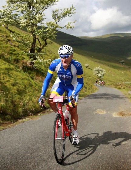 The Welsh countryside offers amazing climbs and quiet lanes