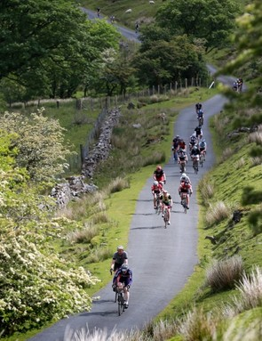 The Dragon Ride is challenging, but not a relentless series of ultra-steep ascents like some UK events
