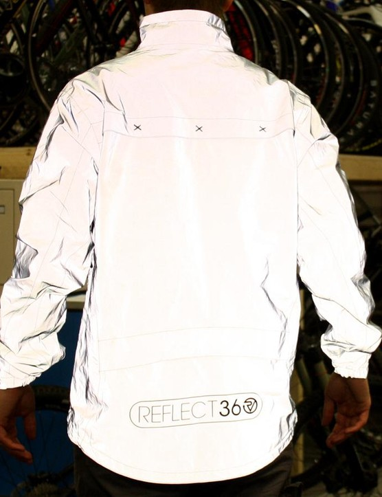 There's no part of the jacket that's not reflective