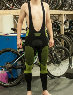 The X-Bionic Effektor Power Bib Tight might look like underwear, but it's comfy and makes clever use of technical fabrics