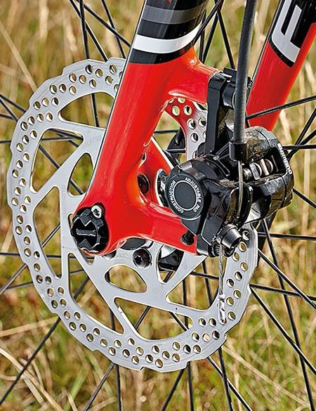 Focus's RAT thru-axles give a solid connection between hub and dropout
