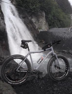 Cade Dickey's fat bike