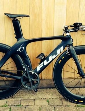 Mark Boyles' Fuji TT bike