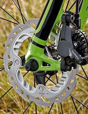 Shimano's hydraulic discs offer a brilliant balance of feel and power