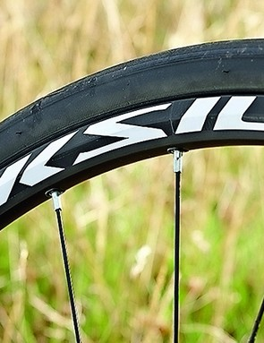 Mavic's Aksium One Disc wheels don't feel like an entry-level offering