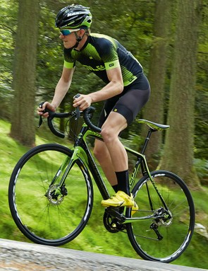 As ever the Synapse's ride is speedy and smooth, even over corrugated surfaces