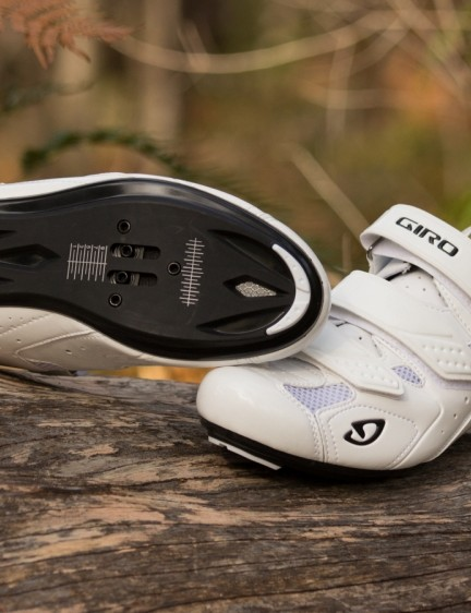 The Treble II shoes are Giro's latest entry-level road option, combining looks and features from more expensive models