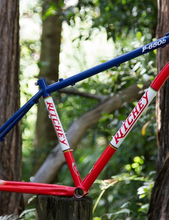 Ritchey's P-650b offers classic pedigree. We'll be building our steel sample with Ritchey gear and a fork from X-Fusion