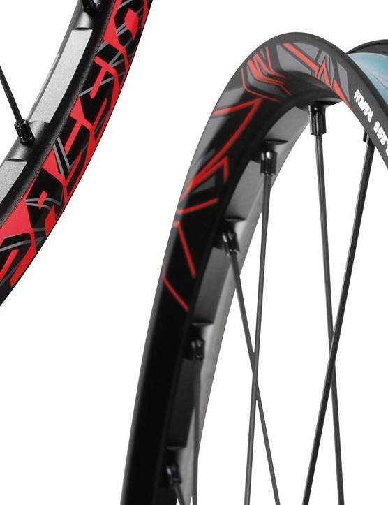 The new Fulcrum Red Passion MTB wheels have a claimed weight of only 1,350g