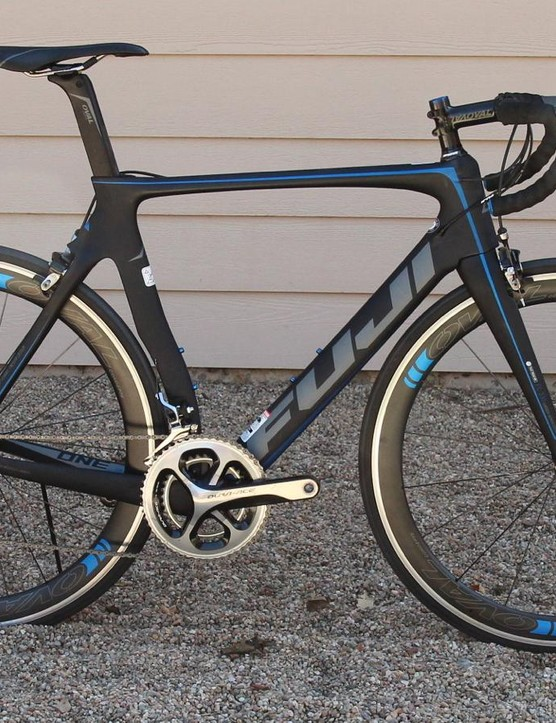 The Fuji Transonic 1.3 is a complete Shimano Dura-Ace bike at a relatively reasonable price