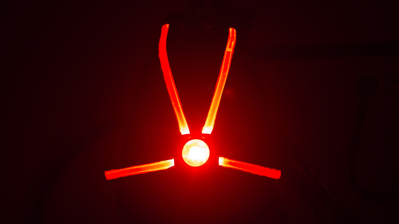 The Veglo really does glow brightly